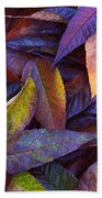 Leaf Ink Photo Designs  Beach Towel