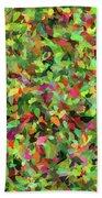 Leaf Riot - Beach Towel