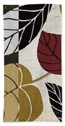 Leaf Story Beach Towel