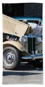 Leander Texas Car Show Viewing Beach Towel
