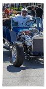Leander Texas Car Show Riding High Beach Towel