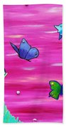Learning To Fly Beach Towel