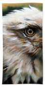 Leather Eagle Beach Towel