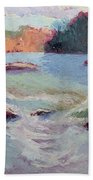 Ledges Afternoon Light Beach Towel