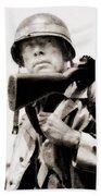 Lee Marvin, Vintage Actor Beach Towel
