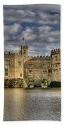 Leeds Castle Beach Towel