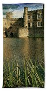 Leeds Castle In Kent Beach Towel
