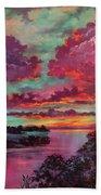 Legend Of A Sunset Beach Towel