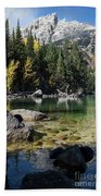 Leigh Lake Cove Beach Towel