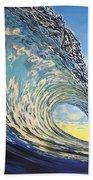 Lemon Joy Beach Towel