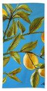 Lemon Tree Beach Towel