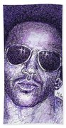 Lenny Kravitz Beach Towel