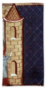 Leper House, C1220-1244 Beach Towel