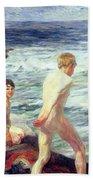 Les Baigneurs Beach Towel