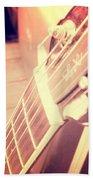 Les Paul Guitar Beach Towel