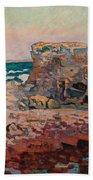 Les Rochers A Saint Palais Beach Towel