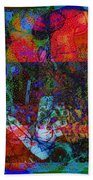 Let Freedom Jazz B Beach Towel