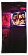 Let There Be Music Beach Towel