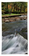 Letchworth Falls Sp Wolfe Creek Beach Towel