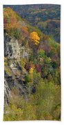 Letchworth Falls State Park Gorge Beach Towel