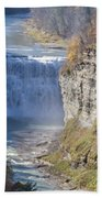 Letchworth Middle Falls Beach Towel