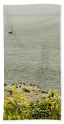 Let's Go Fishing Beach Towel