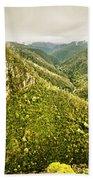 Leven Canyon Reserve Tasmania Beach Towel