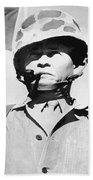 Lewis Chesty Puller Beach Towel