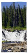 Lewis Falls Beach Towel