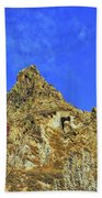 Leydon Hill With Cave Beach Towel