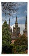 Lichfield Cathedral Beach Towel