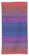 Lie Detector Abstract Design Beach Towel