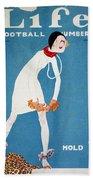 Life: Hold Em, 1925 Beach Towel