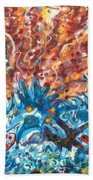 Life Ignition Mural V3 Beach Towel