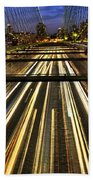 Life In The Fast Lane Beach Towel