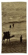 Life Near The Arabian Sea Beach Sheet