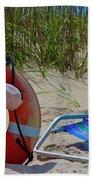 Life Saver Beach Towel