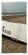 Lifeguard Boat Ocean City, Nj Beach Towel