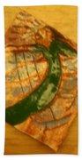 Lifes Beach - Tile Beach Towel