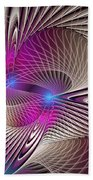 Light And Lines Beach Towel