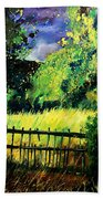 Light Before The Storm Beach Towel