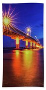 Light Bridge Beach Towel