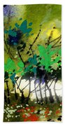 Light In Trees Beach Towel