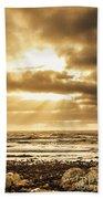 Light Of Dusk Beach Sheet