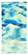 Light On Glacier Beach Towel