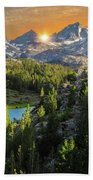 Light On Mack Lake Beach Towel