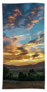 Light Over Hollenbeck Beach Towel
