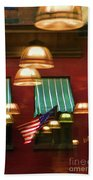 Light Reflection Nyc Canopy  Beach Towel