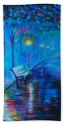 Lighted Parkway Beach Towel