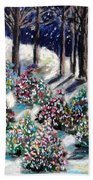 Lighted Path Beach Towel